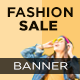 Fashion Sale Web Banner Set - GraphicRiver Item for Sale