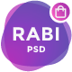 Rabi - Multipurpose Ecommerce PSD Template - ThemeForest Item for Sale