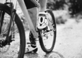 Closeup of a man wearing cycling shoes - PhotoDune Item for Sale