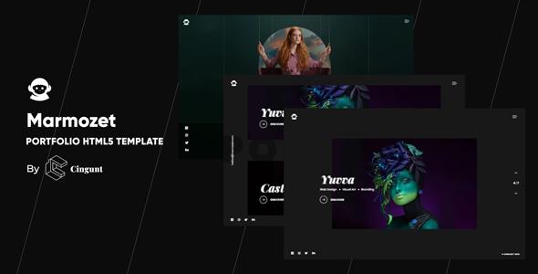 Marmozet - Portfolio Showcase HTML5 Template