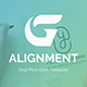 Goal Alignment Pitch Deck Powerpoint Template - GraphicRiver Item for Sale