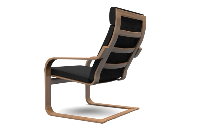 Great Ikea POÄNG Chair By Qoobx | 3DOcean