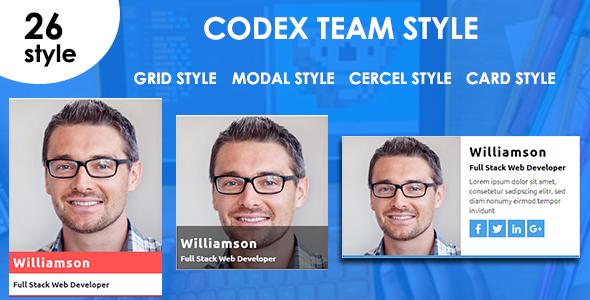 Codex Team Box - CodeCanyon Item for Sale
