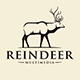 Nature Reindeer Vintage Logo - GraphicRiver Item for Sale