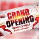 Grand Opening Facebook Cover - GraphicRiver Item for Sale