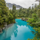 Blue water and rocks of the Hokitika Gorge Scenic Reserve, South - PhotoDune Item for Sale