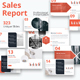 Sales Report Powerpoint Template - GraphicRiver Item for Sale