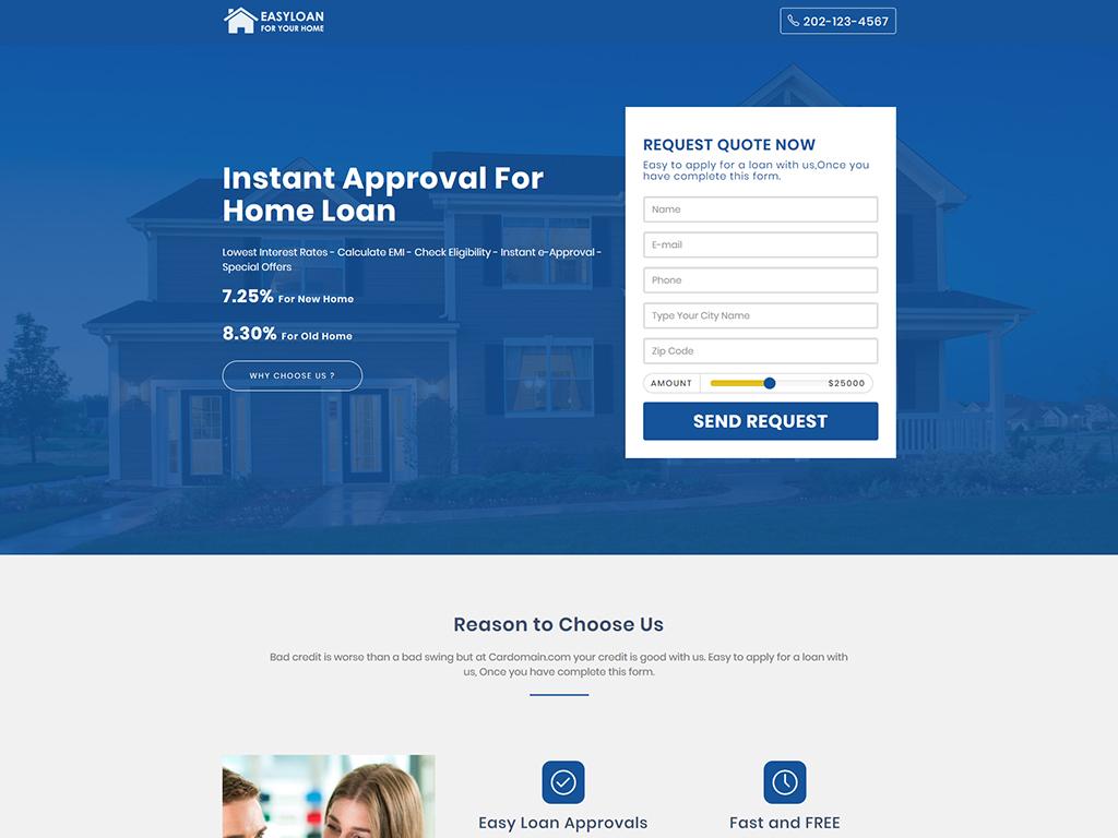 Easyloan loan company website templates by onushorit | themeforest.