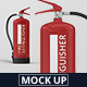 Fire Extinguisher Mockup - GraphicRiver Item for Sale