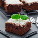 Homemade brownie with coconut flakes, swedish dessert Karleksmum - PhotoDune Item for Sale