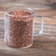 Glass mug of red quinoa - PhotoDune Item for Sale