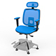 Office Chair with Multi Options - 3DOcean Item for Sale
