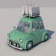 Toon Car No:1 - 3DOcean Item for Sale