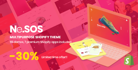 Nesos - Multipurpose Shopify Sections Theme