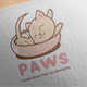Paws Logo Design - GraphicRiver Item for Sale