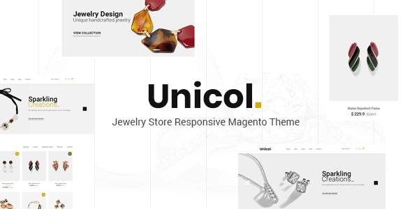 Unicol - Jewelry Store Responsive  Magento 2 Theme