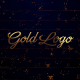 Gold Logo Reveal (Particles Opener) - VideoHive Item for Sale