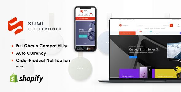 Sunmi - Electronics Responsive Shopify Theme