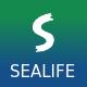 Sealife - Fullscreen Scrolling Template - ThemeForest Item for Sale