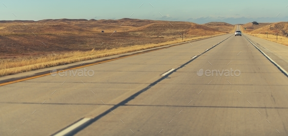 Colorado Interstate Seventy Six - Stock Photo - Images