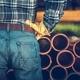Men Choosing Septic Pipes - PhotoDune Item for Sale