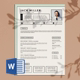 Boldy Resume Template - GraphicRiver Item for Sale