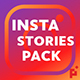 100 Instagram Stories | Essential Graphics | Mogrt - VideoHive Item for Sale