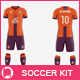 Men's Full Soccer Team Kit Mockup V5 - GraphicRiver Item for Sale