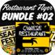 Restaurant Flyer Bundle 02 - GraphicRiver Item for Sale