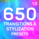 Transitions & Stylizations for Premiere Pro - VideoHive Item for Sale