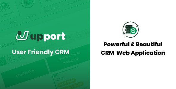 Upport CRM - Laravel Open Source CRM Web Application - CodeCanyon Item for Sale