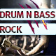 The Drum and Bass Rock Logo