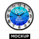 Wall Clock Mockup - GraphicRiver Item for Sale