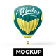 Hot Air Balloon Mockup - GraphicRiver Item for Sale