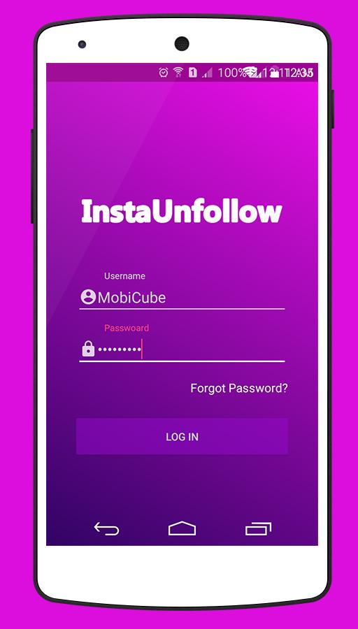 InstaUnfollow - Instagram Unfollower Tool (Admob & Firebase & GDPR)