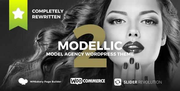 Modellic - WooCommerce & Booking Model Agency WordPress Theme by Coffeecream