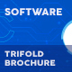 Software Trifold Brochure 10 - GraphicRiver Item for Sale