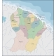 Map of French Guiana - GraphicRiver Item for Sale