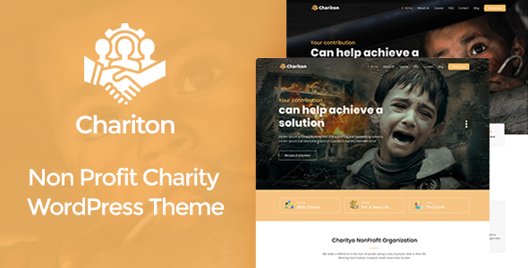 Chariton – NonProfit Fundraising Charity WordPress Theme Free Download