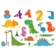 Cartoon Dinosaurs - GraphicRiver Item for Sale