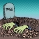 The Corpse Is Chosen From a Grave Crisis - GraphicRiver Item for Sale