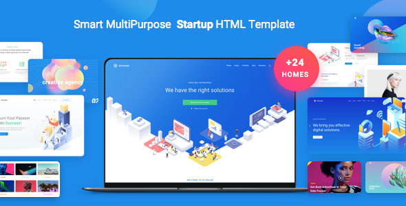 Atomlab - Multi-Purpose Startup HTML Template