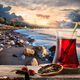 Turkish tea and sea - PhotoDune Item for Sale