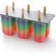 homemade rainbow ice pop - PhotoDune Item for Sale