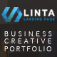 Linta - Creative Portfolio Responsive Template - ThemeForest Item for Sale
