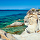 Rocky coast and turquoise sea in Greece - PhotoDune Item for Sale