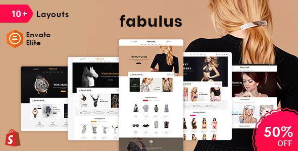 Fabulus - Shopify Multi-Purpose Responsive Theme