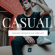 Casual - Fashion Google Slides Template - GraphicRiver Item for Sale
