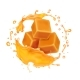 Caramel Candies in Caramel Syrup or Honey Splash - GraphicRiver Item for Sale