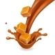Caramel Candies in Splash - GraphicRiver Item for Sale